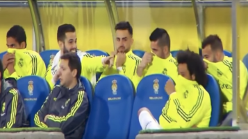 Real Madrid Bench Fart