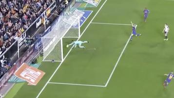 Messi Disallowed Goal vs Valencia