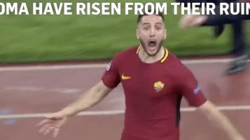 Commentary Roma Goal vs Barcelona