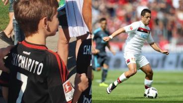Fans Of Chicharito Flock To A Meet-And-Greet With The Mexican Star In Leverkusen