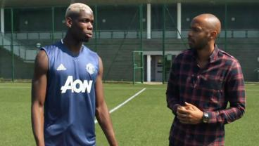 Paul Pogba Talks About Dabbing, Zlatan Impersonations And His Love Of Life With Thierry Henry
