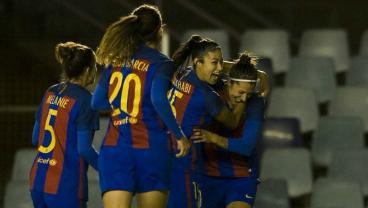 Barcelona women's team goal