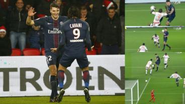 Thomas Meunier's goal