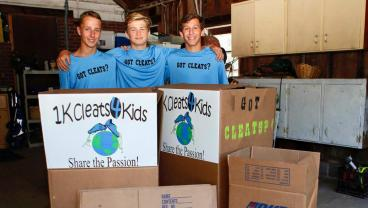 New Jersey Family Collects More Than 1,000 Pairs Of Cleats For Kids In Haiti