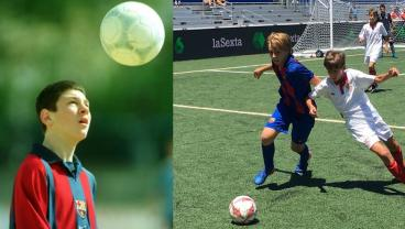 Lionel Messi and Barcelona's La Masia