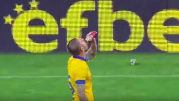 You Shouldn't Drink A Beer In The 29th Minute. Unless You're This Guy