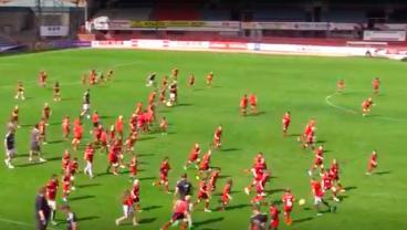 100 Schoolchildren Steamroll Dundee FC Using 33-33-33 Formation