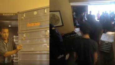 Watch Barcelona Transform Bougie NYC Hotel Room Into Stanky Equipment Locker