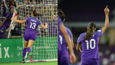 Alex Morgan And Marta Combine For The NWSL Goal Of The Week