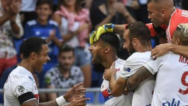 Lyon's Nabil Fekir Uncorks One From Nearly 60 Yards Out