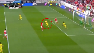 He Tried To Clear It For A Corner But Ended Up Scoring The Own Goal Of A Lifetime