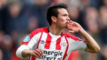 Hirving Lozano Makes It 7 Goals From First 7 Eredivisie Matches