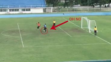 Early Goalkeeper Celebration Leads To Tragedy In Penalty Shootout