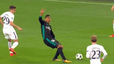 Is Casemiro's Terrible Piece Of Embellishment Now The Latest Dance Craze?
