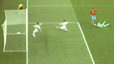 This Handball Will Make You Question End Line Referees