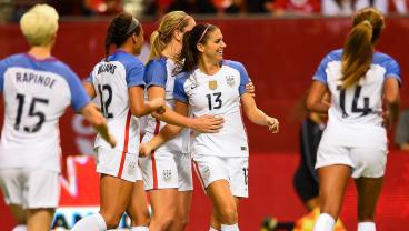Alex Morgan's Sweet Volley Keeps Canada's USWNT Jinx Alive And Well
