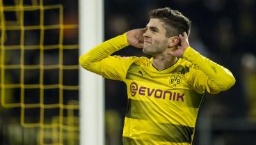 Christian Pulisic Wins Bundesliga's Goal Of The Month For December