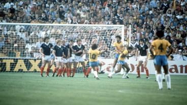 Zico Could Kill A Mosquito From 40 Yards With His Incredible Free Kicks