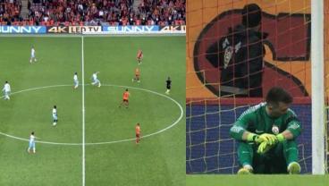 Watch Juraj Kucka Outdo Zlatan With Perfect Free Kick Goal From Midfield