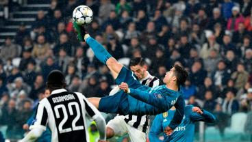 Watch The Amazing Ronaldo Goal That Won Over The Juventus Crowd