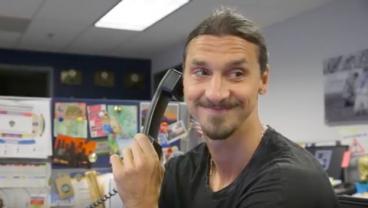 Zlatan Calls An Unsuspecting Fan To Thank Him For Renewing Season Tickets