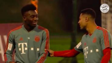 Alphonso Davies In Line For Bayern Action After Impressing Teammates And Coach In Doha