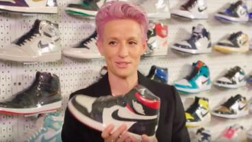 Megan Rapinoe Goes Sneaker Shopping, Talks Post-World Cup Life In Great Interview