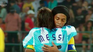 There Was No Stopping A 21-Year-Old Lionel Messi At The 2008 Olympics