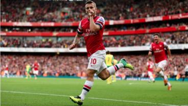 Arsenal Team Golazo vs Norwich 2013