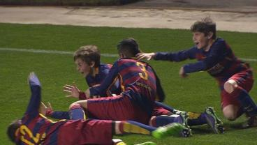 Barcelona Nino Scores Epic FK