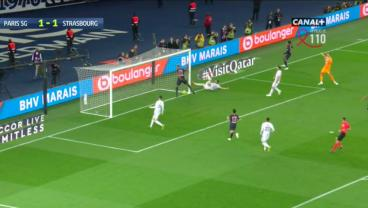 PSG Denies Own Title Celebrations By Clearing Own Shot Off The Goal-Line