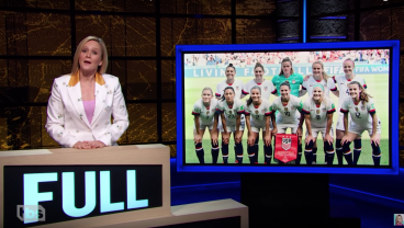 Samantha Bee Joins Equal Pay Debate For USWNT, Compares It To Grey's Anatomy