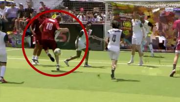 Zinedine Zidane Plays 5-A-Side With Amateurs, Scores Preposterously Good Goal