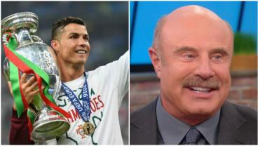 Cristiano Ronaldo is rivaled by Dr. Phil