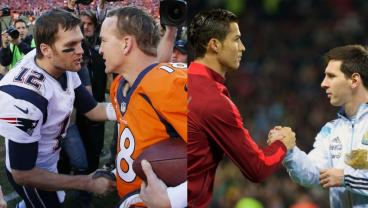 How Does Brady vs Manning Compare To Messi vs Ronaldo?