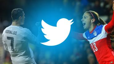 Soccer Twitter Accounts: Cristiano Ronaldo and Alex Morgan