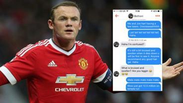 Master Of Tinder Uses Only Wayne Rooney Tweets