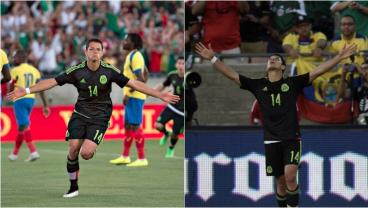 Chicharito And Corona Star In Win Over Ecuador