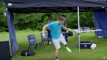 Ozil Can Juggle Gum, But What's More Impressive Is Where He Can Stick It.