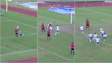 High Schoolers Pull Off Ridiculous Bicycle Kick To Bicycle Kick Goal