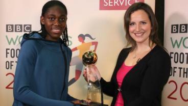 Asisat Oshoala Womens World Player of the Year