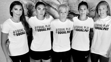 The USWNT Play Like Girls, And That's Exactly Why They Should Get Paid The Same