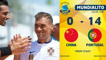 Portugal 14 - 0 China