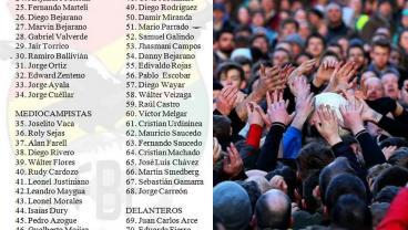 Bolivia 93-man Squad