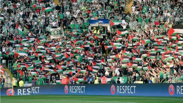 Threatened By UEFA, Celtic Fans Decided To Match Any Fine With A Donation To Charity