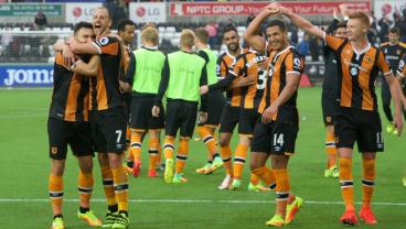 Hull City are without a manager and winning.