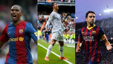 Samuel Eto'o Enters War Of Words Between Ronaldo And Xavi