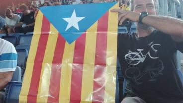 Barcelona Fans Staged A Display Of Catalan Pride During Their Champions League Match Against Celtic