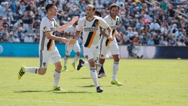 Landon Donovan Scored His First Goal Since Returning To The Galaxy