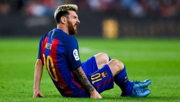 Messi Out For Three Weeks After Injuring Thigh In Draw Against Atletico Madrid